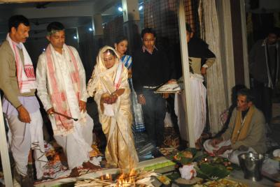 Assamese Wedding Celebrations Or Assamese Marriage Or Assamese Biya