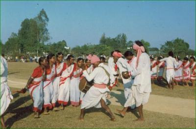 Jhumur Dance