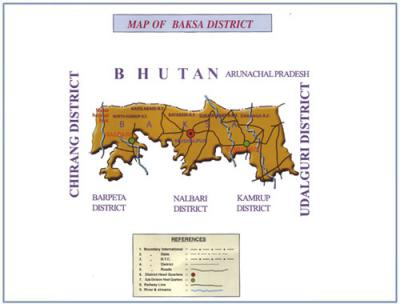 Baksa District Map