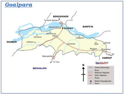 Goalpara District Map