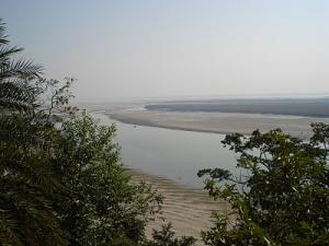 A splendid view from the hillock of Agnigarh