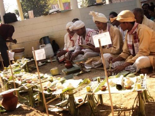 Me dam me phi celebration in  capital of the Ahom Kingdom Sivasagar, Assam