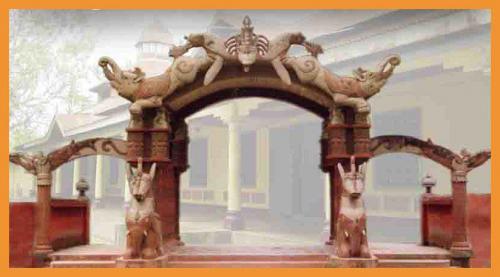 Bordowa Satra Gate