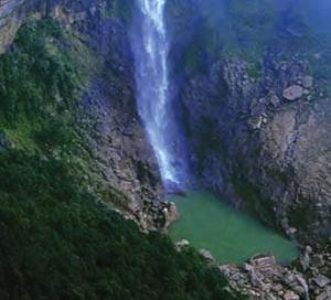 Water Fall In Haflong