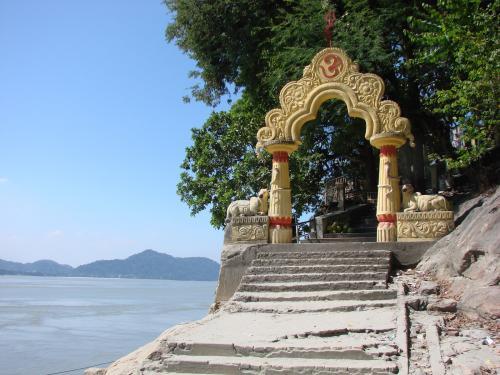 Umananda Temple in Guwahati