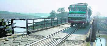 Katakhal Rail Cum Road Bridge