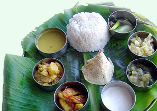 Traditional Assamese food